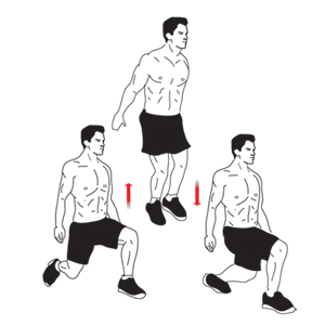 Image result for jumping split squats