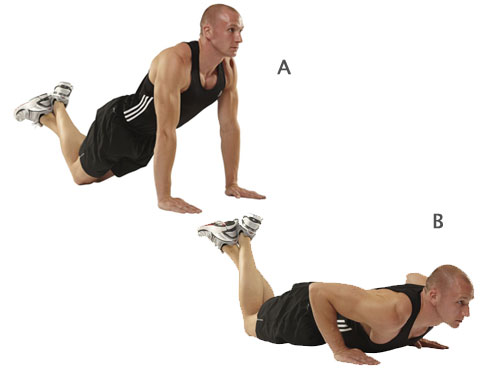 knee-pushups